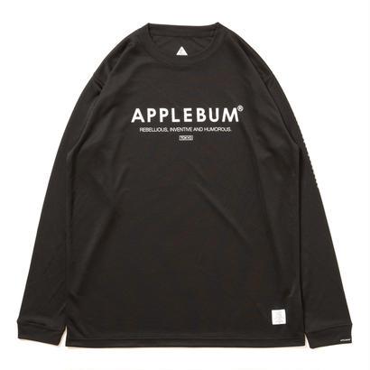 【APPLEBUM】Elite Performance Dry L/S T-shirt [Black