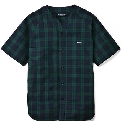 【INTERBREED】BLACKWATCH BASEBALL SHIRT