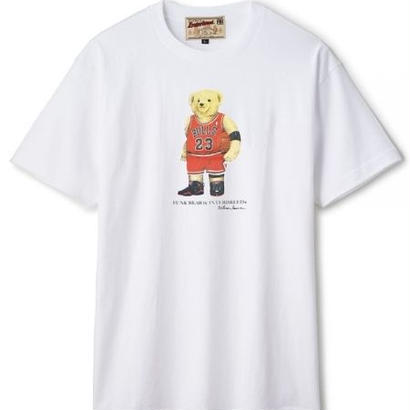 【INTERBREED】FUNK BEAR MJ SS TEE(WHITE)