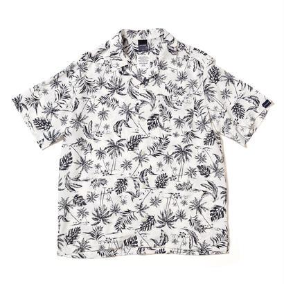 【APPLEBUM】Monotone Aloha Shirt [White]
