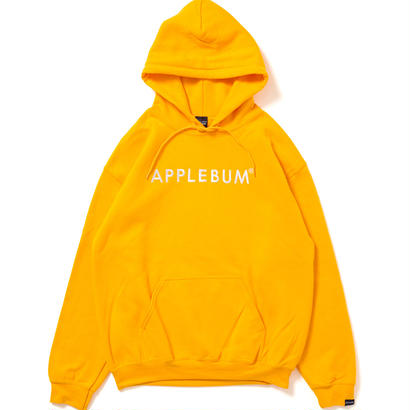 【APPLEBUM】Logo Sweat Parka [Yellow]
