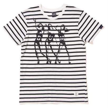 "【APPLEBUM】 ""KATE"" Border T-shirt"