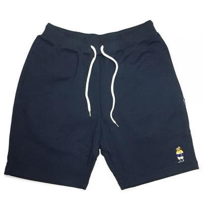 【INTERBREED】INTERBREED  FBI SWEAT SHORTS(NAVY)