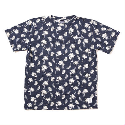 "【APPLEBUM】""Palm Tree"" T-shirt [Navy]"