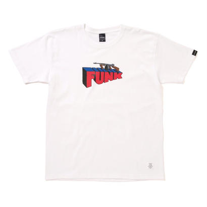 "【APPLEBUM】""Machine Gun Funk"" T-shirt [White]"