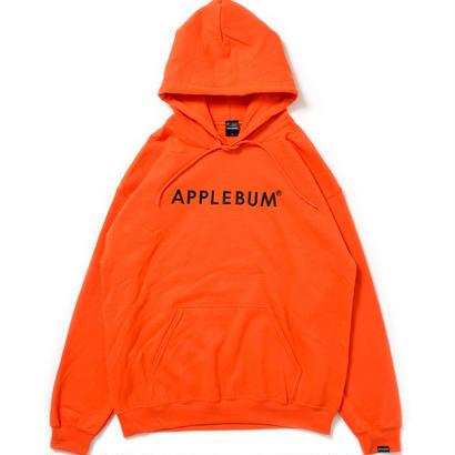 【APPLEBUM】Logo Sweat Parka [Orange]