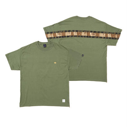 PLAY for APPLEBUM MILITARY BACK LINE TEE [Olive]