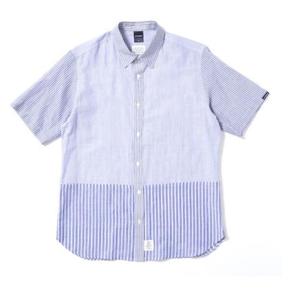 【APPLEBUM】Stripe Mix SS Shirt