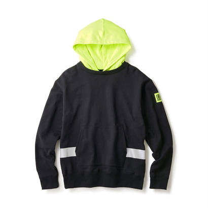 【INTERBREED】NIGHT WATCHMAN PULL OVER HOODIE