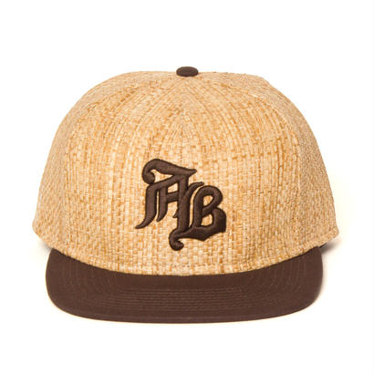 "【APPLEBUM】""AB"" 6panel Straw Cap"