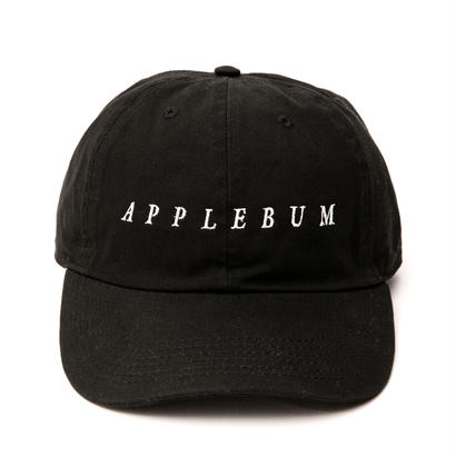 【APPLEBUM】Logo Cotton Cap [Black]