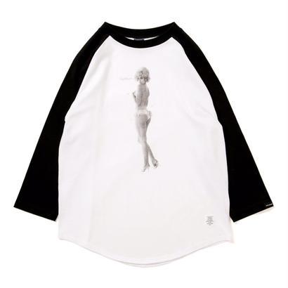 """【APPLEBUM】 """"Nice Applebum"""" Raglan 3/4 Sleeve T-shirt"""