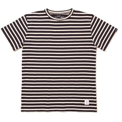 【APPLEBUM】Border T-shirt [Navy]