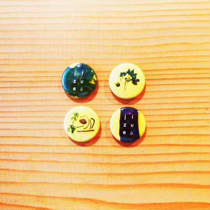 jizue - shiori缶バッジ
