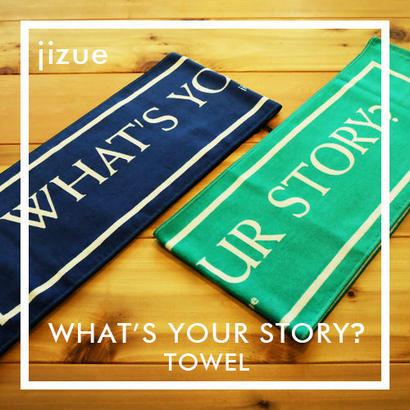 jizue - What's Your Story?マフラータオル