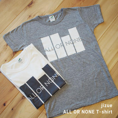 jizue - ALL OR NONE T-SHIRT