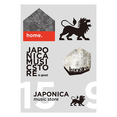 JAPONICA - ORIGINAL STICKER SHEET