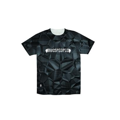 Metallic総柄Tシャツ