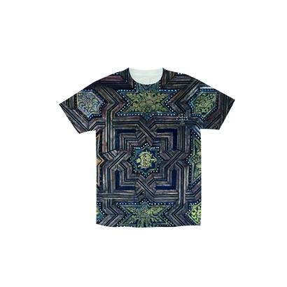 Wall総柄Tシャツ
