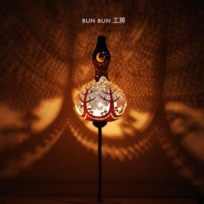 キノコの森 シンプルスタンドlamp(*^-^*)