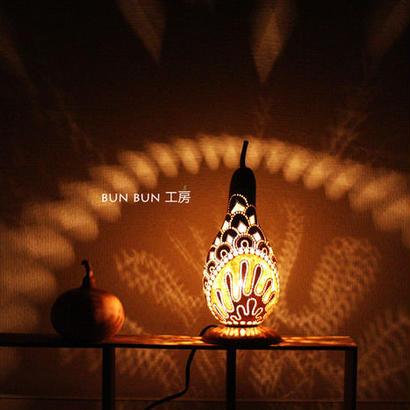 ひょうたんランプ--麒麟の鱗