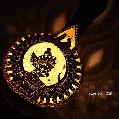 ひょうたんランプ--バリの神様ガル-ダー