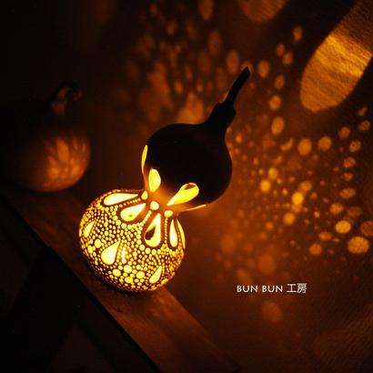 ひょうたんランプ---LED電池式 ミニlamp