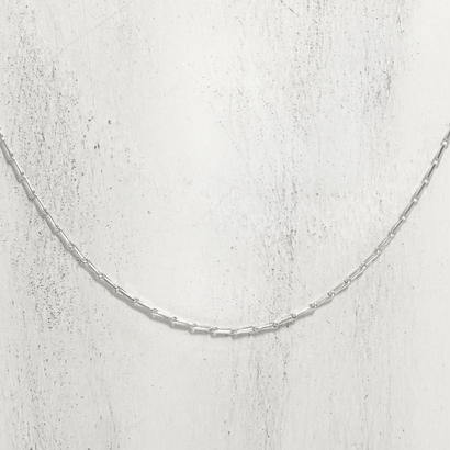 SILVER チェーン       barley corn-640s【80cm】