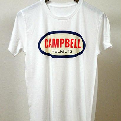 Campbell Helmets トリコ・ロゴ TEE ホワイト