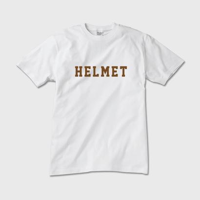 【LIMITED】Campbell Helmets HELMET TEE GOLD