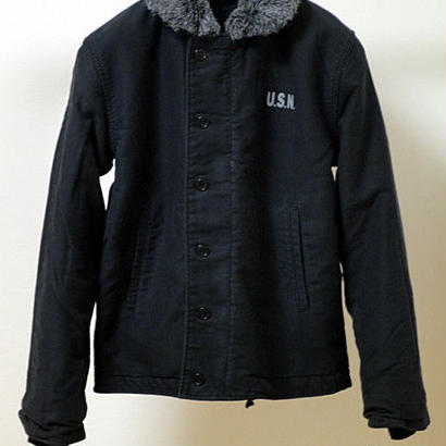 CAMPBELL HELMETS N-1 DECK JACKET BLACK