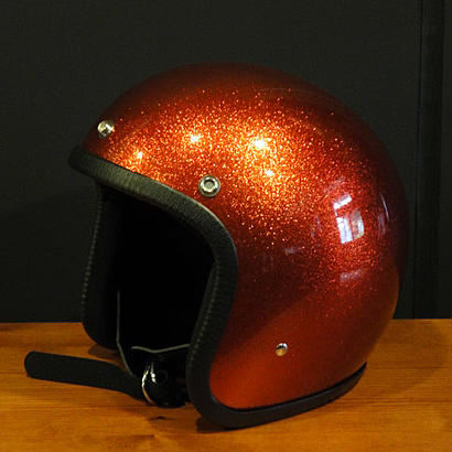CAMPBELL HELMETS CH102-FLAKE/ORANGE