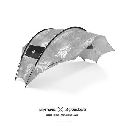 groundcover×MONTSINE ルーフハウス- タープ (T/C)