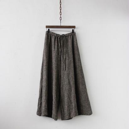 cavane キャヴァネ / Shetland wool wide pantsワイドパンツ/ ca-18078