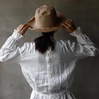 cavane キャヴァネ /  Farmer-linen blouseⅡ ファーマーブラウスⅡ     / ca-19017