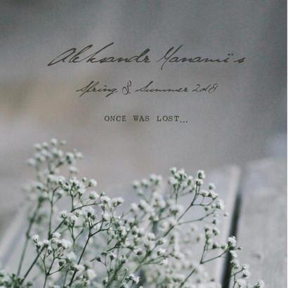 ALEKSANDR MANAMIS '2018ss collection
