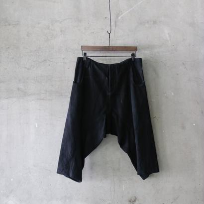 golem ゴレム / Cotton low trousers shortパンツ / go-18006