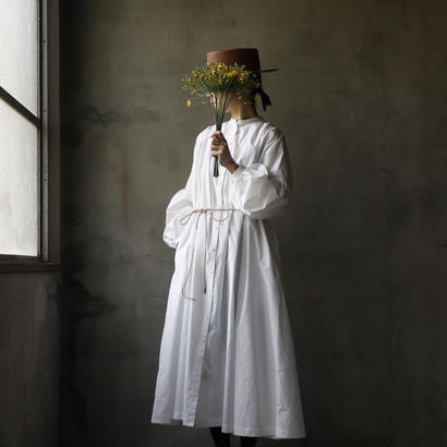 cavane キャヴァネ /  【受注】Balloon sleeve dressバルーンスリーブドレス / ca-19002