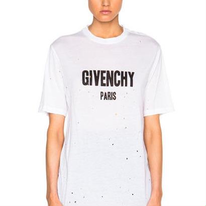 大人気 ジバンシーtシャツ 半袖 ロング 3色選択 レディース メンズファッション インナーアウター両用 オシャレ美品