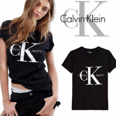 Calvin Klein tシャツ 半袖 可愛い オシャレ 3色選択 男女兼用 カジュアル ペアルック用 カップル