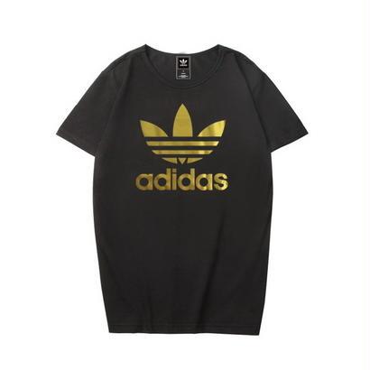 大人気 濃い色 アディダスTシャツ 運動 adidas 可愛い カラフル 男女サイズ レディース メンズ