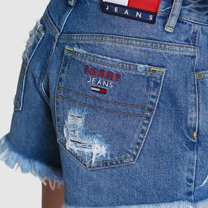 トミー Tommy Hilfigerショートパンツ 可愛い美品 オシャレ トミーヒルフィガーデニム  ジーンズ