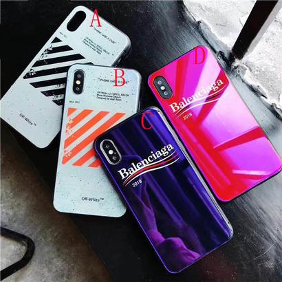 2018新入荷 バレンシアガ balenciagaモバイルケース オフホワイト Off-White Iphoneケース カバー iphoneカバー