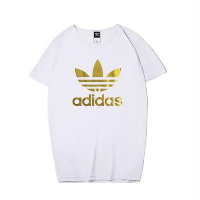 大人気 薄い色 アディダスTシャツ 運動 adidas 可愛い カラフル 男女サイズ