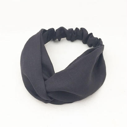 CROSS TURBAN / Linen Black