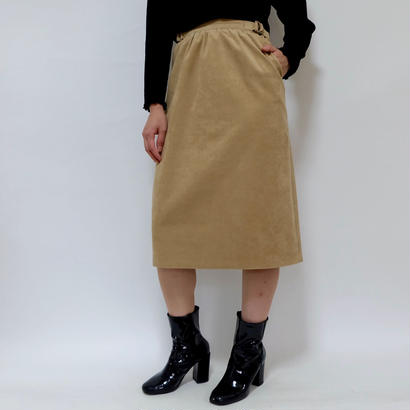 VINTAGE   fake suede SKIRT