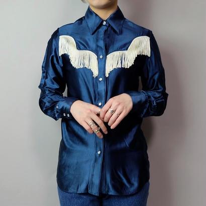 Vintage   Fringe Westan Shirt