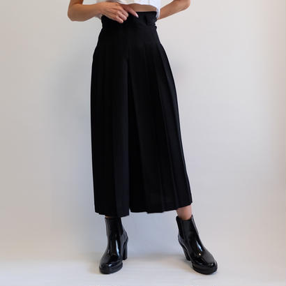 VINTAGE   PLEATS WIDE PANTS