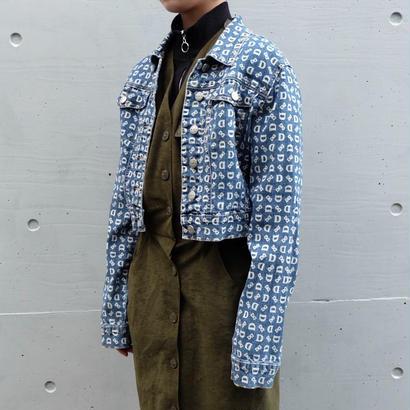 Vintage   Print Deinm Jacket