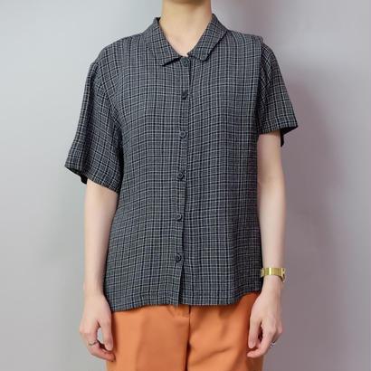 Vintage  Rayon Check Shirts